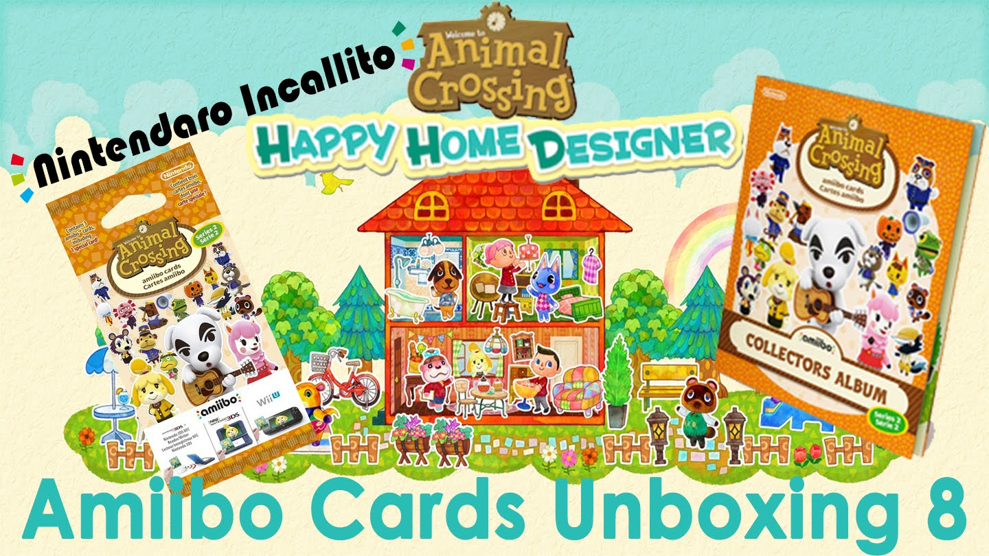 Unboxing Animal Crossing Amiibo Cards Collector's Album Serie 2 +.