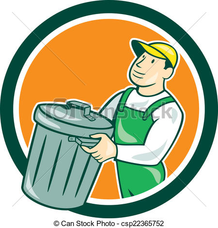 Garbage collectors Clipart and Stock Illustrations. 137 Garbage.