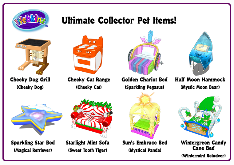 Ultimate Collector's Items: Pet Items!.
