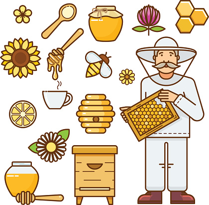Collects Nectar Clip Art, Vector Images & Illustrations.