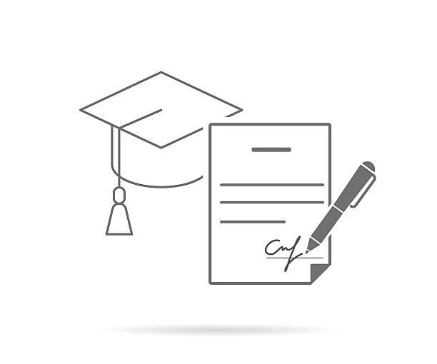 College Acceptance Letter Clip Art, Vector Images & Illustrations.
