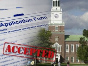 Rethinking Admissions » college application.