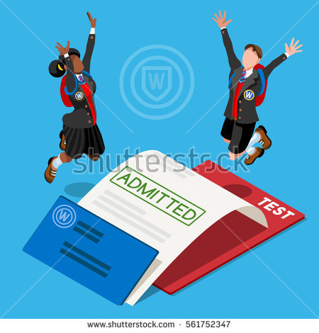 College Admissions Stock Images, Royalty.