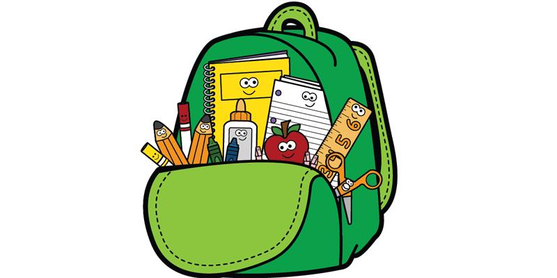Clipart backpack school bag, Clipart backpack school bag.