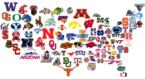 The Best College Basketball Team in Each State (Part 1).