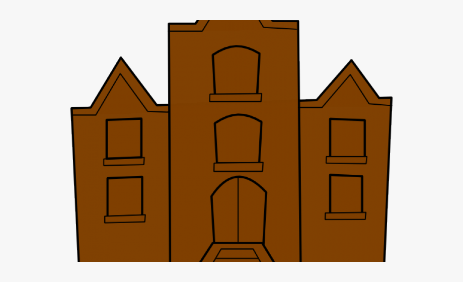 Mansion Clipart College Building.