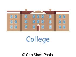 College building Vector Clipart Royalty Free. 7,194 College building.
