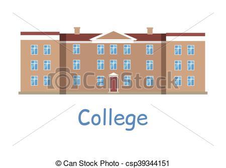 College Building Icon.