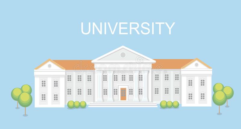 College Campus Stock Illustrations.