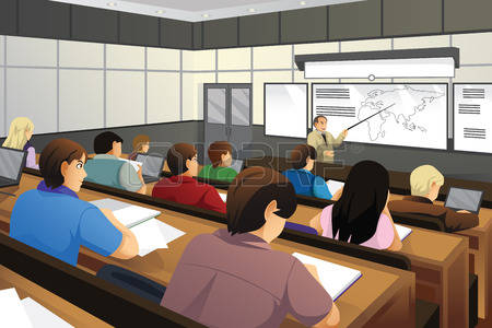 College students in classroom clipart 6 » Clipart Station.
