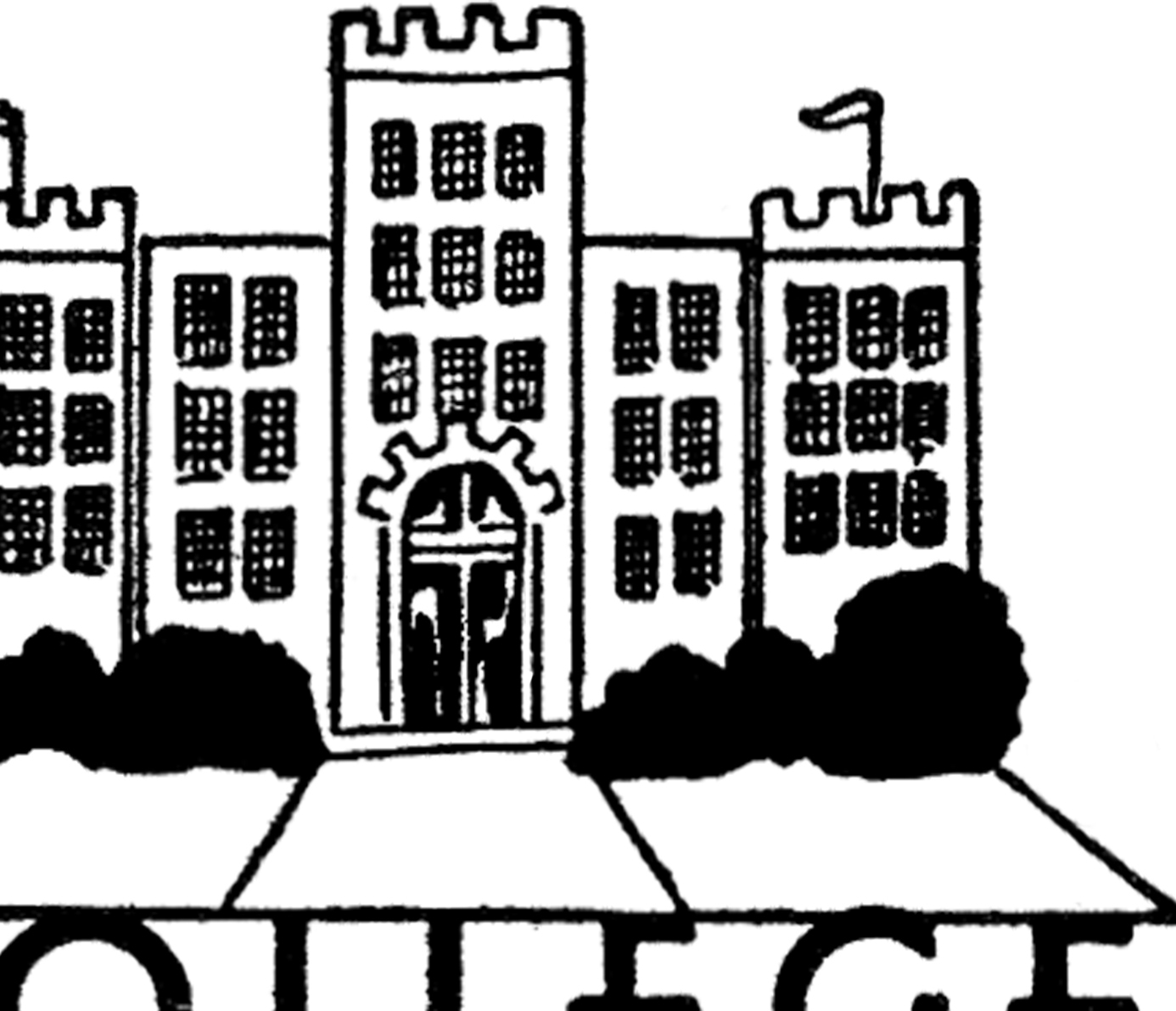 Vintage College Image!.