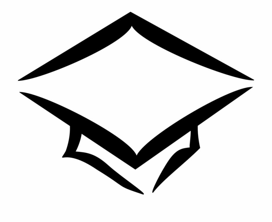 Cap Graduation Hat Education School College.