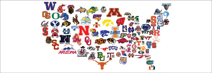 Top 5 Best College Football Logo Designs and How This Applies to.