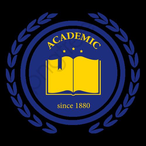 College School Logo Label, Label Clipart, School, School Logo PNG.