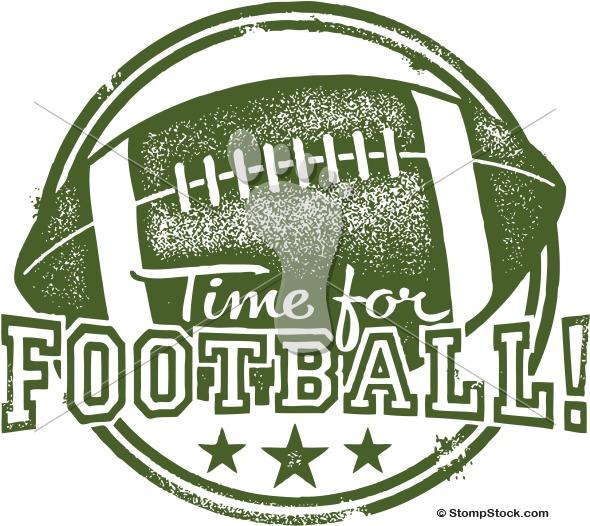 College Football Bowl Game Clip Art.