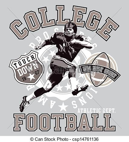 College football clipart #20