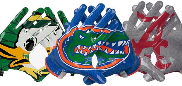 Nike Vapor Knit Gloves for College Football\'s Elite.