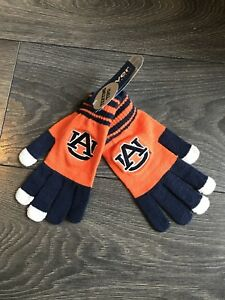 Details about Auburn University Collegiate Texting Gloves College Football  Basketball NCAA.