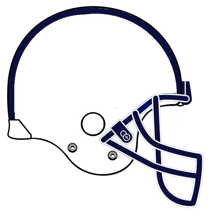 College football helmet clip art.