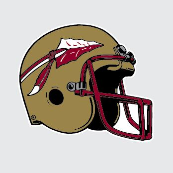 Florida State Seminoles Football Helmet Clipart.
