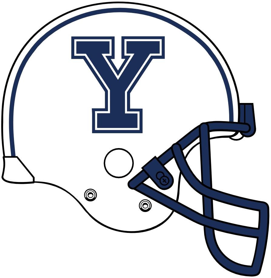 College Football Helmet Logos Clip Art.