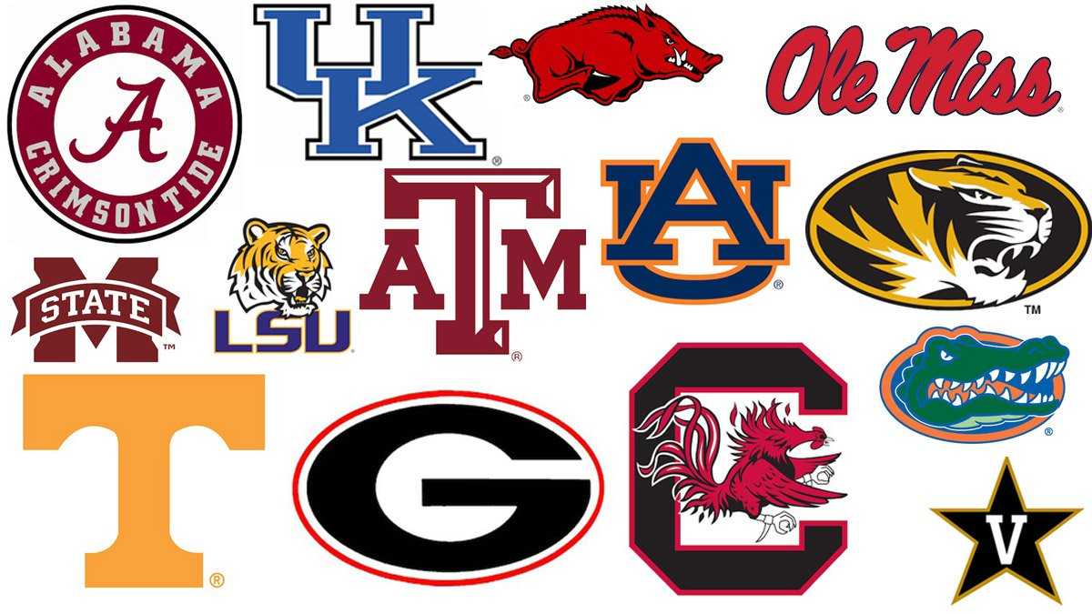 College Football 2013: Ranking the SEC's Logos.