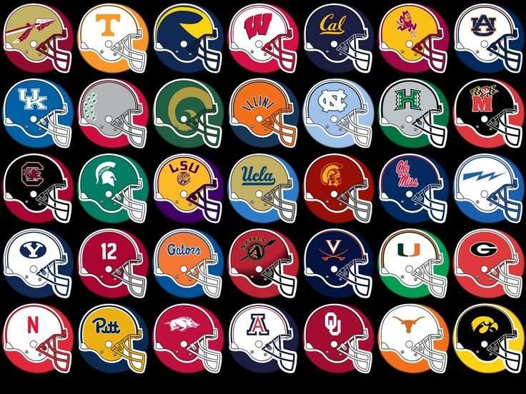 ncaa college football logos clipart.