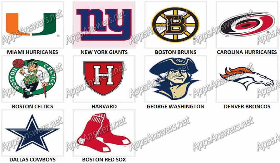 Sports Logos Quiz Answers.