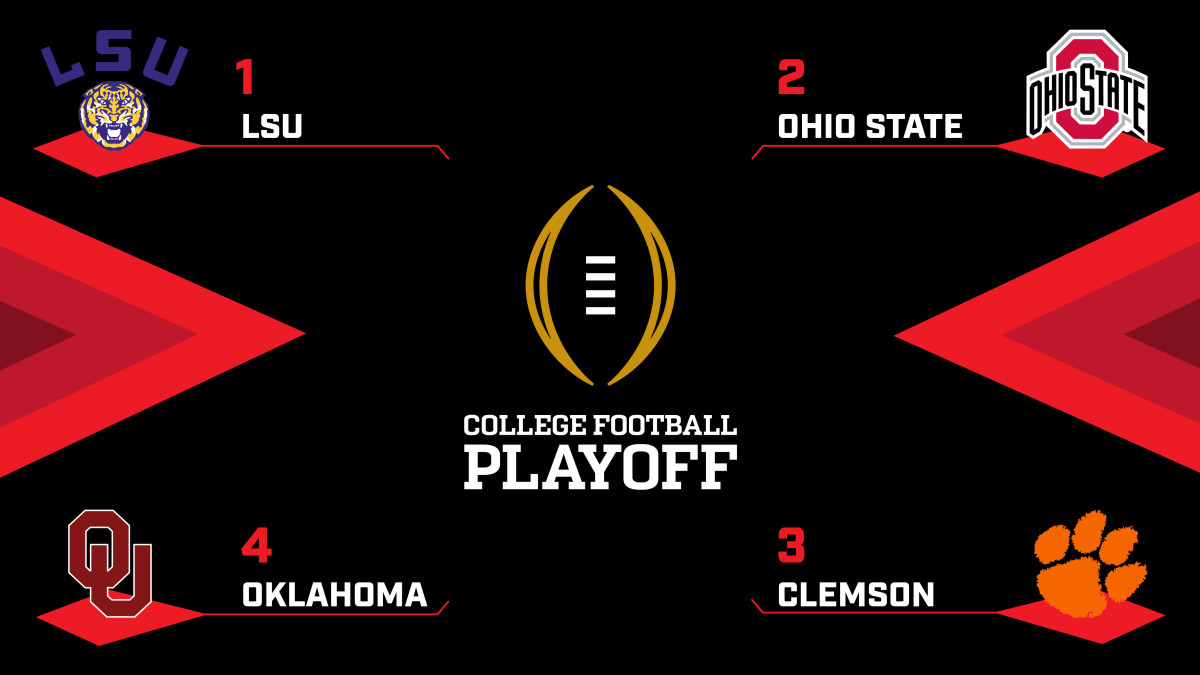 College Football Playoff: Loaded field makes for juicy.