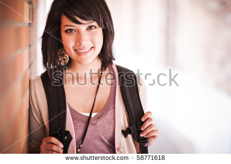College Students Stock Images, Royalty.