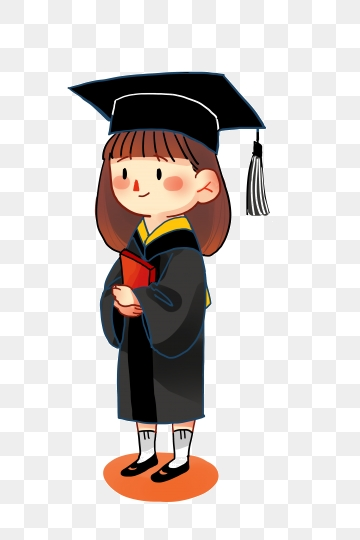 College Graduate Png, Vector, PSD, and Clipart With Transparent.