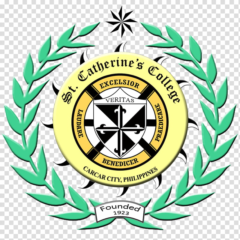 St. Catherine&#;s College Logo transparent background PNG.