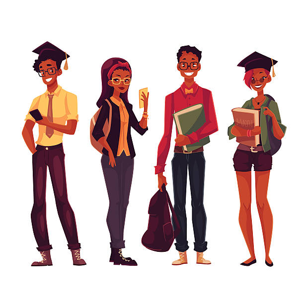 Top 60 International College Students Clip Art, Vector Graphics and.