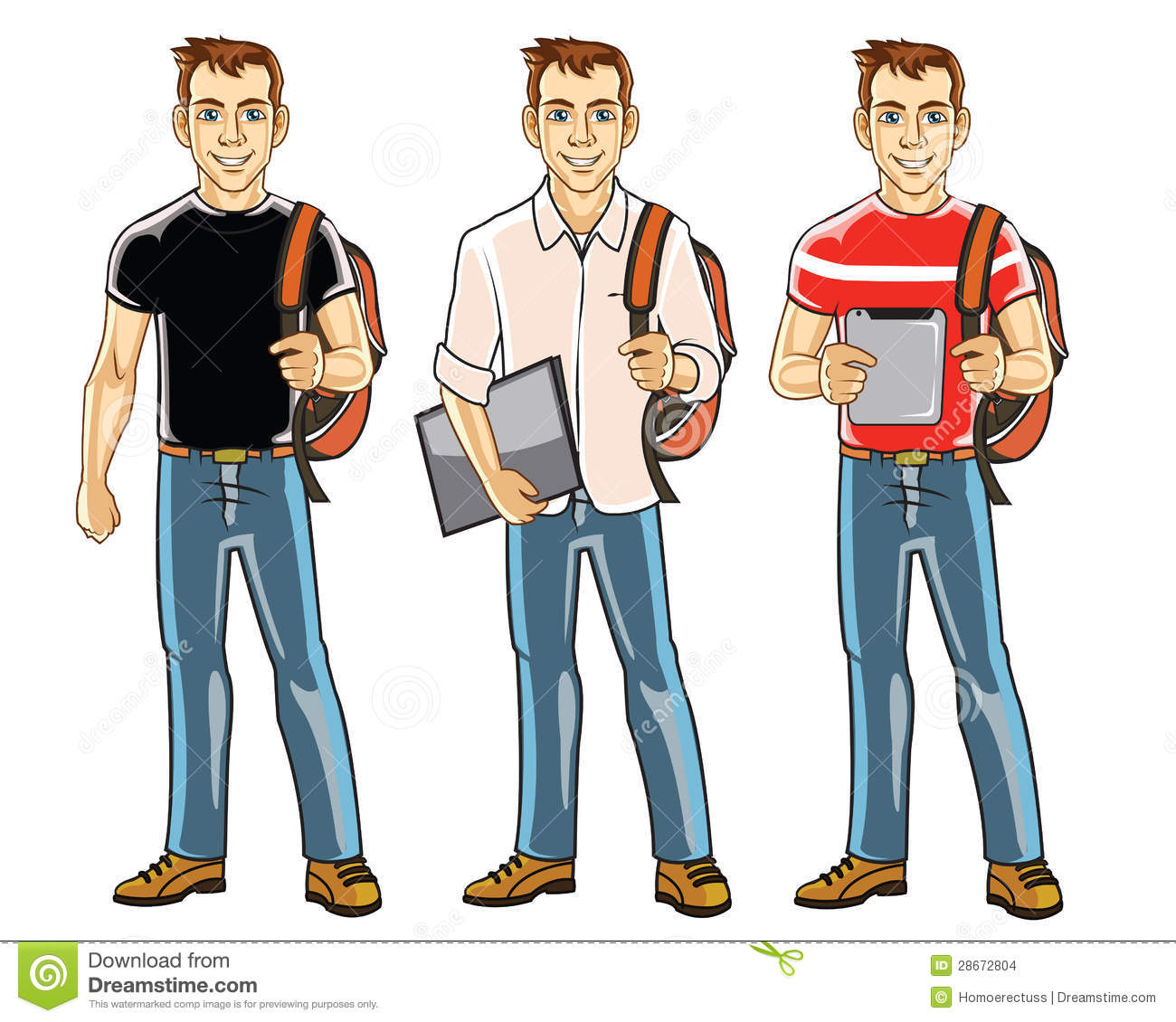 27+ College Student Clipart.