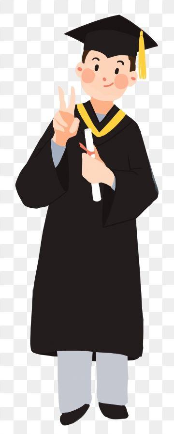 Hand Painted Illustration Graduation Graduation Season, Student.