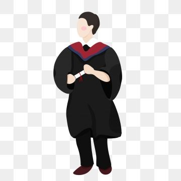 2019 的 Cartoon College Student Graduation Character Design, Cartoon.