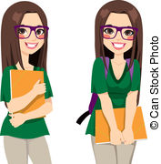 College student Illustrations and Clipart. 79,404 College student.