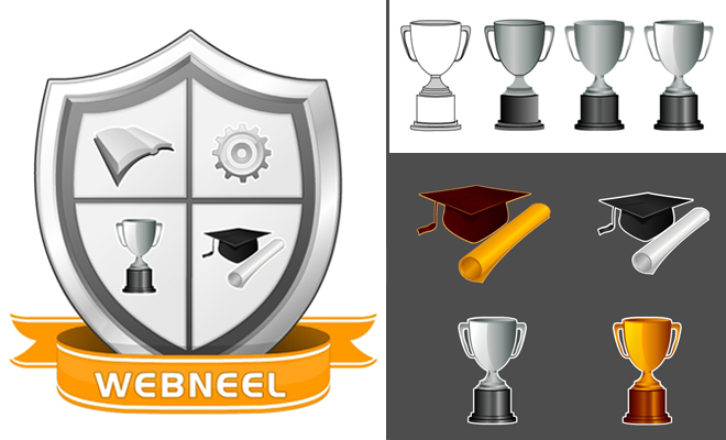 to create a logo for university or college.