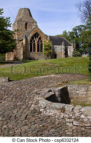 Stock Photo of Seton Collegiate Church, Edinburgh.