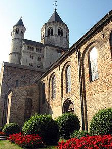 Nivelles Abbey.
