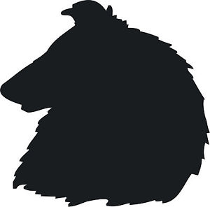 Rough Collie Silhouette at GetDrawings.com.