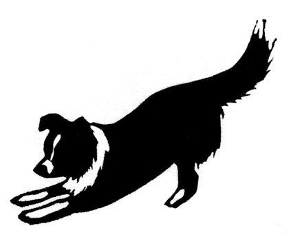 Border Collie Silhouette Clip Art at GetDrawings.com.