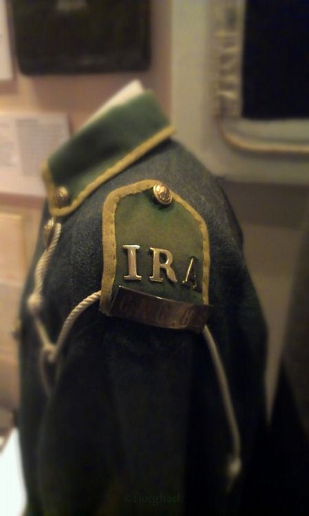IRA uniform, Collins Barracks Museum, Dublin, Ireland https://www.