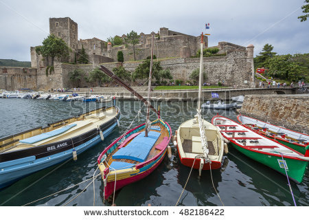 Collioure Stock Photos, Royalty.