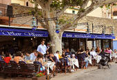 Picture of Beachside Cafe Restaurant In Collioure;France u25158857.