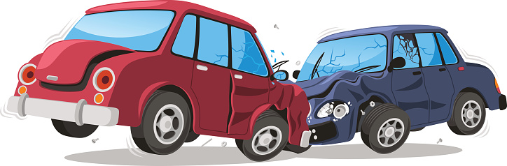 Car Accident Collision Clip Art At Clker Com Vector, Car Crash.