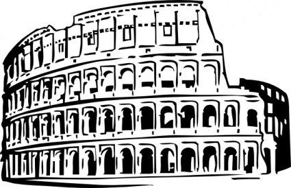 Roman Coliseum Clipart Picture Free Download.