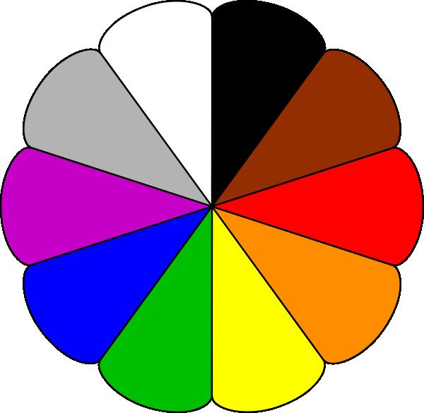 Basic Color Clipart.