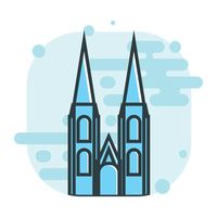Cologne cathedral clipart #18