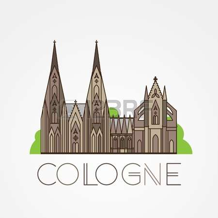 Cologne cathedral clipart #11
